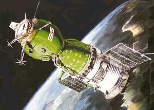 La nave Soyuz